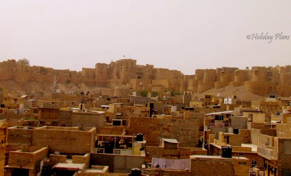 Jaisalmer fort night view