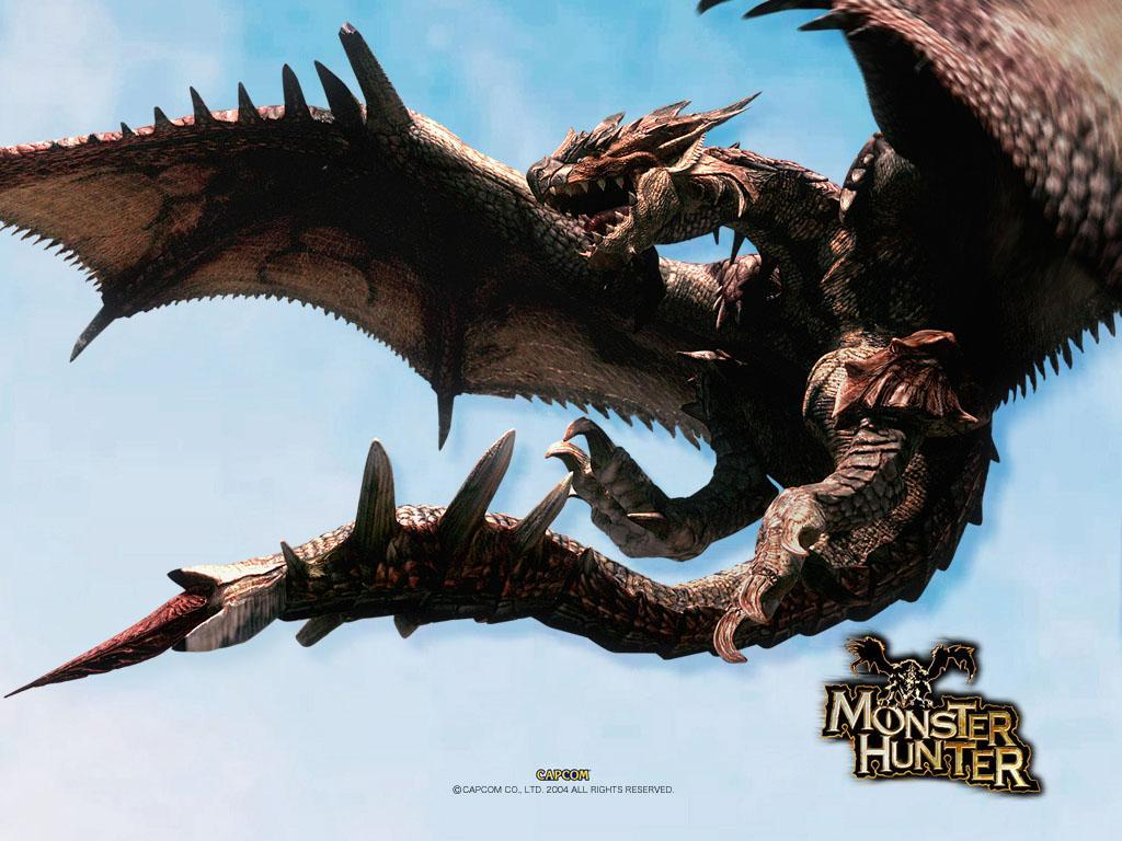 Monster Hunter HD & Widescreen Wallpaper 0.376579125825243