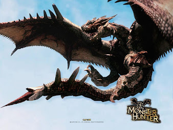 #4 Monster Hunter Wallpaper