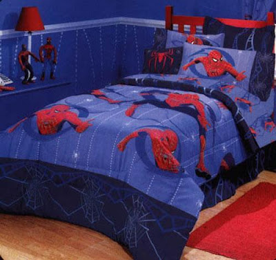 superhero bedroom design for kids room