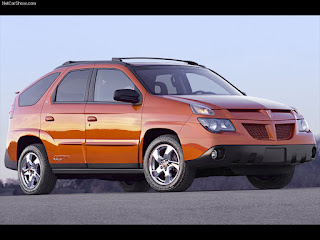 ugly orange 2003, 2004, 2005 Pontiac Aztec