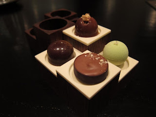 Chocolates at Benu San Francisco