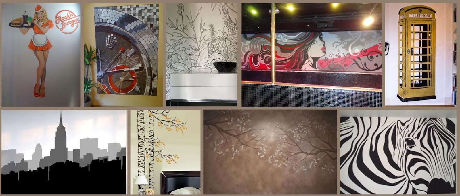 Decopared murales pintados decopared para tu casa o tu Murales decorativos para exteriores