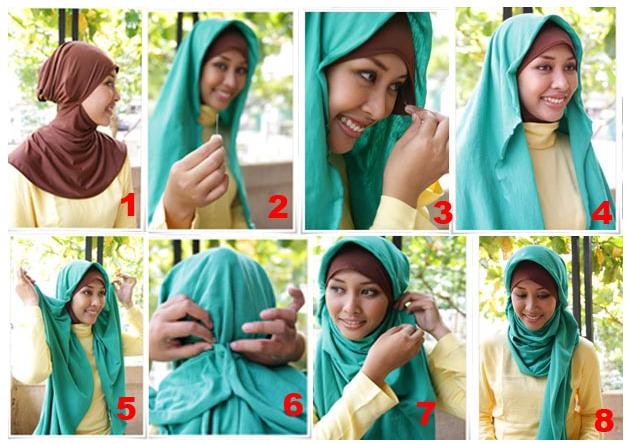 Как и с чем одевать платок