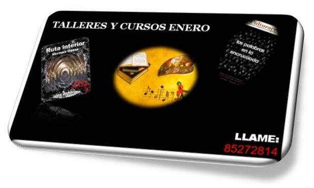 CURSOS Y TALLERES ENERO 2015