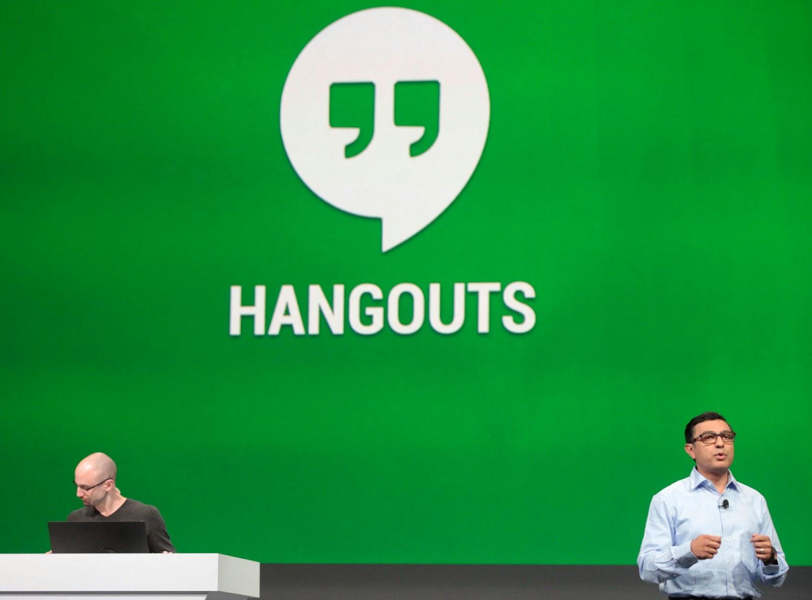 برنامج hangouts 2014 للدردشة على كاميرا الويب