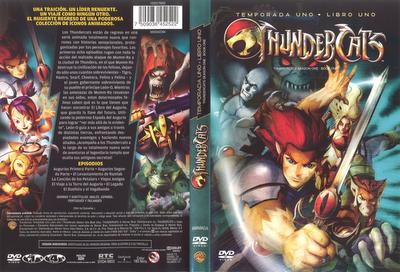 Thundercats Temporada uno DVD portada