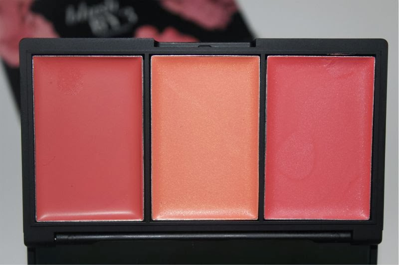 New Sleek MakeUp Blush by 3 Palettes