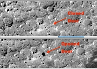 Doorway Into Moon Discovered in NASA Apollo Photos. Click Here.