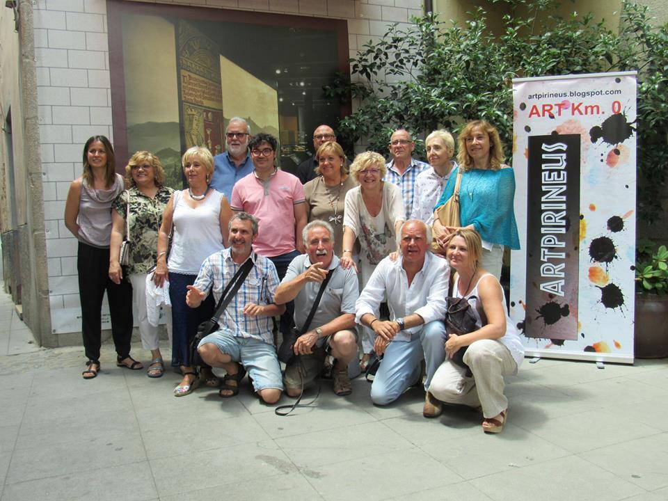 Artpirineus exposa al Museu Etnològic del Montseny. Arbúcies (Girona)