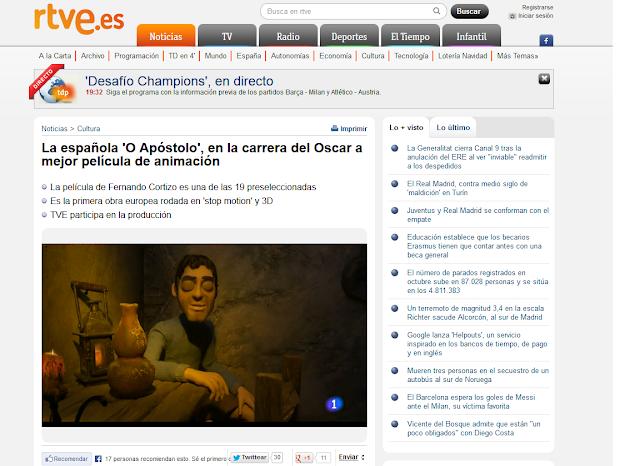 http://www.rtve.es/noticias/20131106/espanola-apostolo-carrera-del-oscar-mejor-pelicula-animacion/785341.shtml