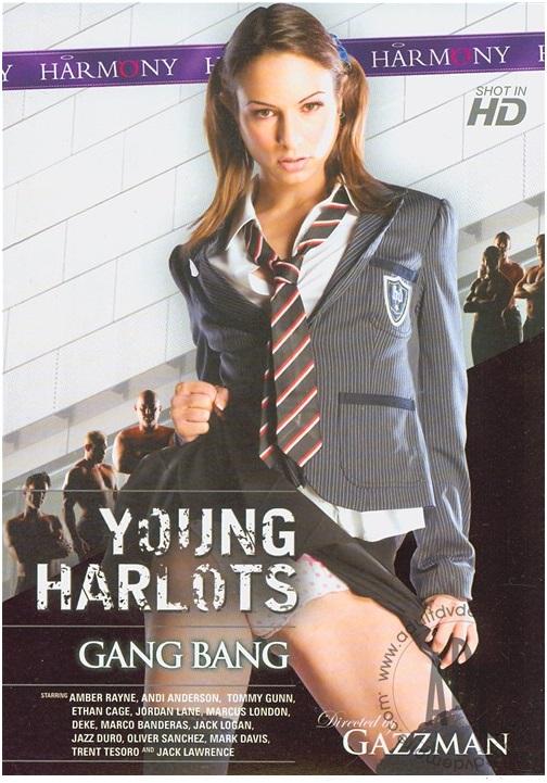 XXX movie: Young Harlots Gang Bang