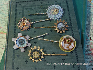 Steampunk Bobbypins by Barbe Saint John