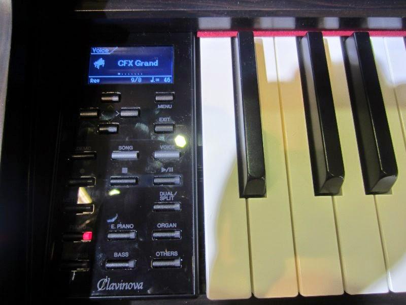 Yamaha Keyboard Larger Screen