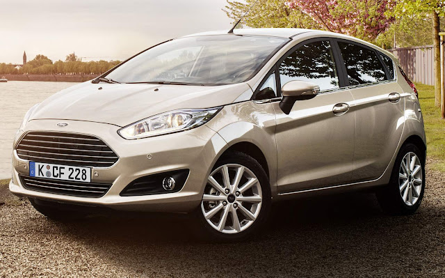Ford New Fiesta - Prata Silk