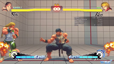 Super Street Fighter IV: AE 2012 - Ryu Full Super Meter Combo