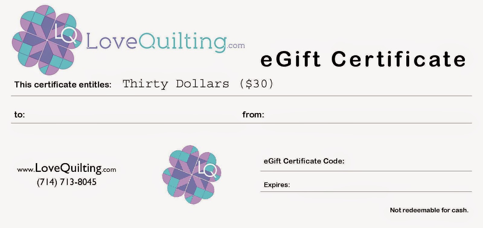 http://www.lovequilting.com/shop/accessories/30-egift-certificate/