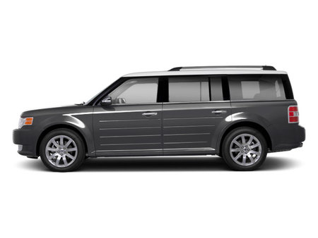 Side view of two-tone 2011 Ford Flex