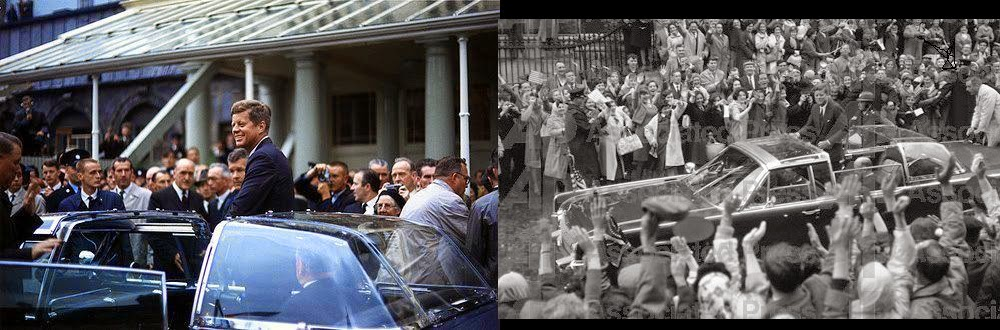 JFK bubbletop Ireland 6/27/63