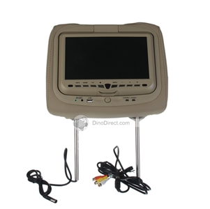 מצטיין מסך DVD לרכב 9 אינטש מובנה בתוך משענת הראש - ב- 580.12 שקלים PY-05