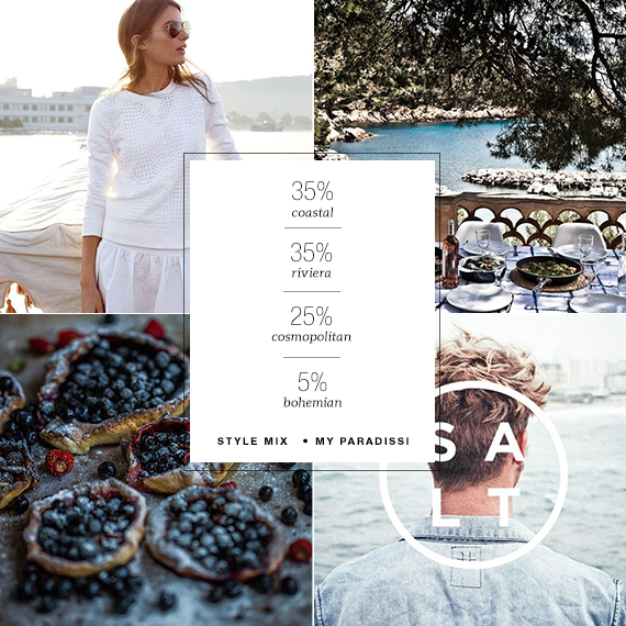 35% coastal, 35% Riviera, 25% cosmopolitan and 5% bohemian style mix | My Paradissi