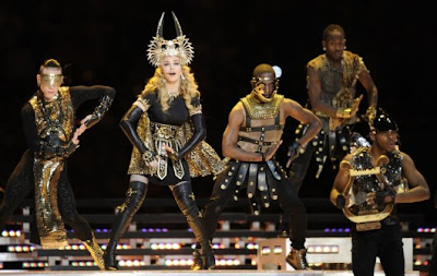 Madonna at the Superbowl