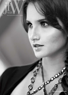 Sania Mirza Photoshoot For JFW