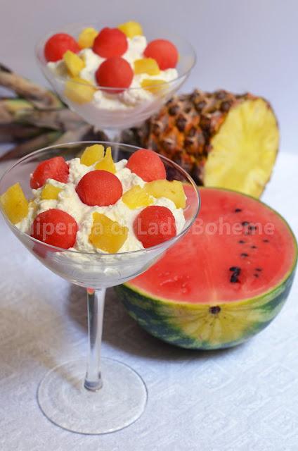 hiperica_lady_boheme_blog_di_cucina_ricette_gustose_facili_veloci_dolci_dessert_con_anguria_e_ananas_fresco_1