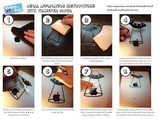 vinyl decal application instructions