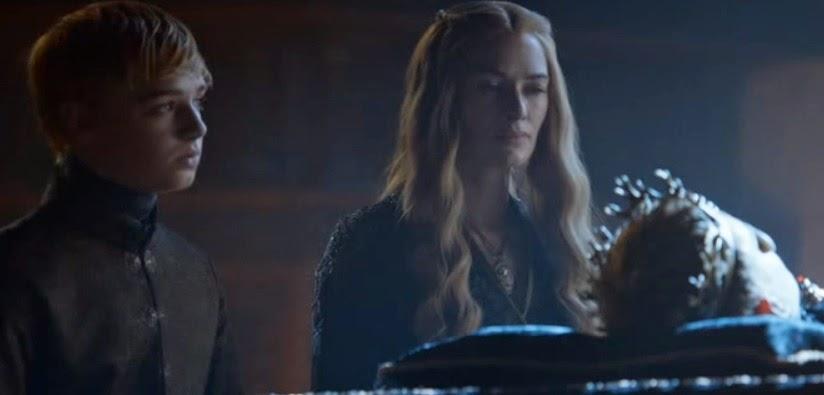 Cersei Tommen y Joffrey - Juego de Tronos en los siete reinos