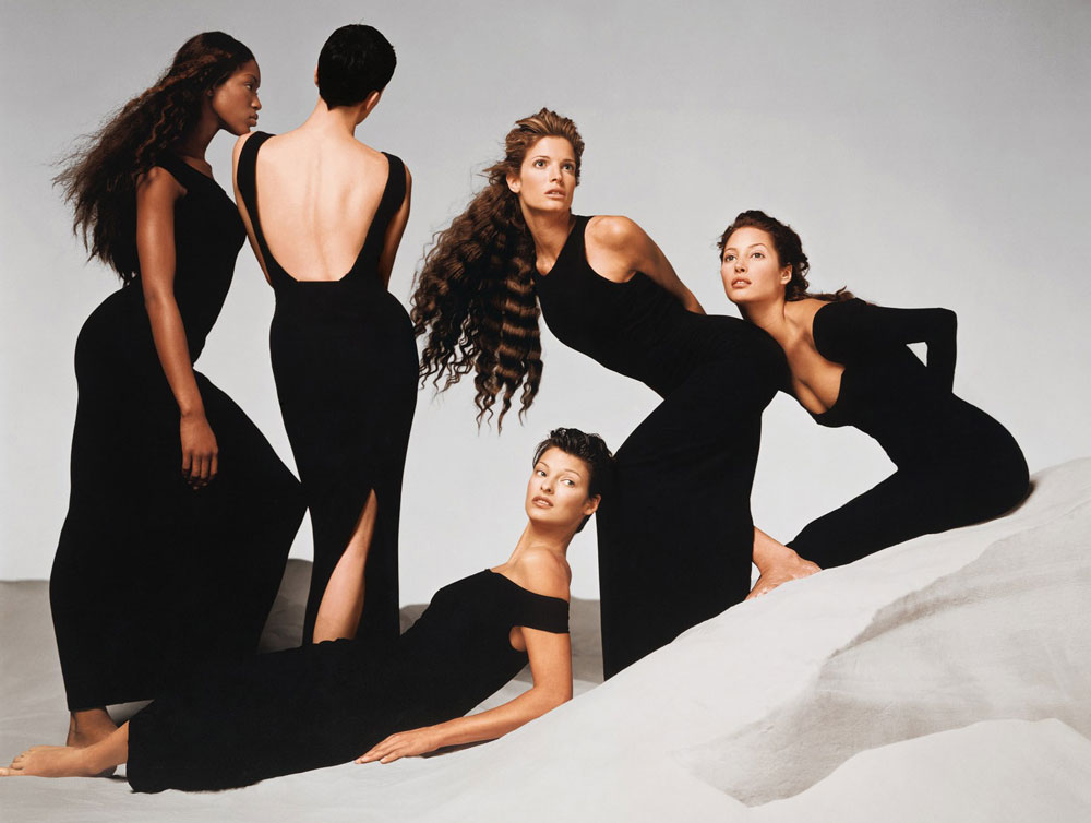 Versace supermodels by Richard Avedon / Versace mood board by Bruce Weber / Gianni Verscace / Versace biography / Italian fashion designers / made in italy / designer biographies / via fashioned by love british fashion blog