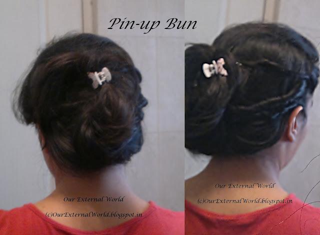 Pin Up Hair Bun - TRESemmé Ramp Ready Hair