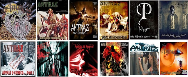 Todos os álbuns de Antraz, Depressão, sentimentos, Antraz, Horrorcore.