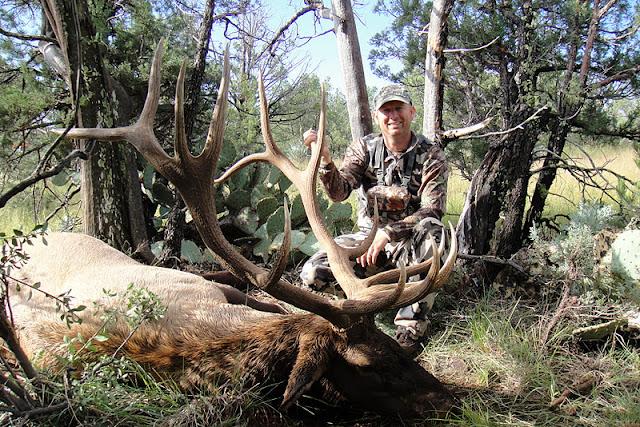 Jay with Todd's AZ elk