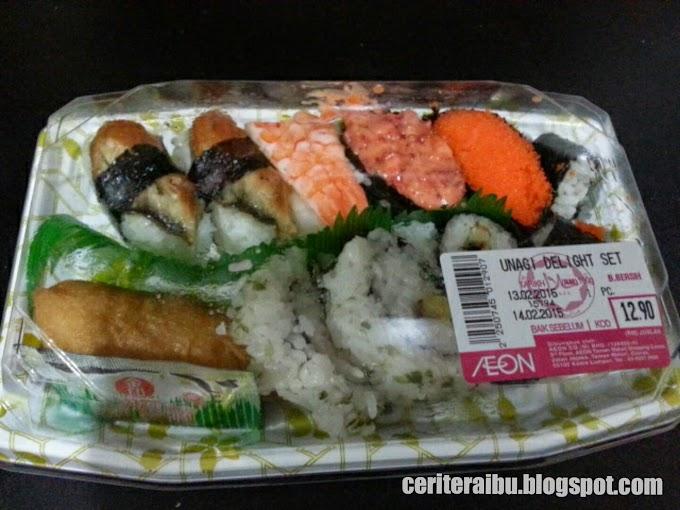 3rd Pregnancy :: Mengidam Sushi???