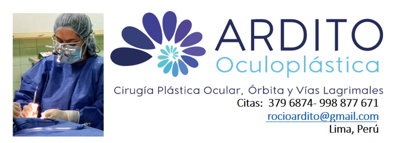 Dra Rocío Ardito, Oculoplastía en Lima, citas al 998877671