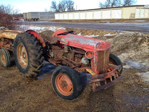 Massey Ferguson TO20 tractor parts