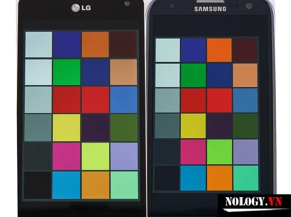 So sánh Thiết kế  của Samsung Galaxy S3 và LG Optimus G