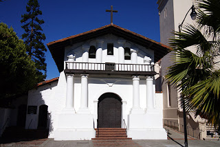 front of- Mission Dolores- San Francisco