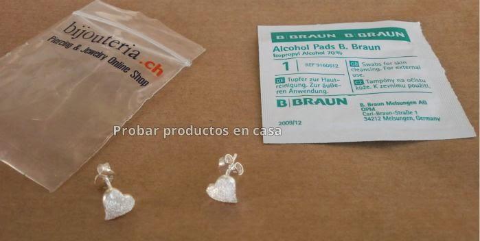 Pendiente plata en forma de corazón: Bijouteria