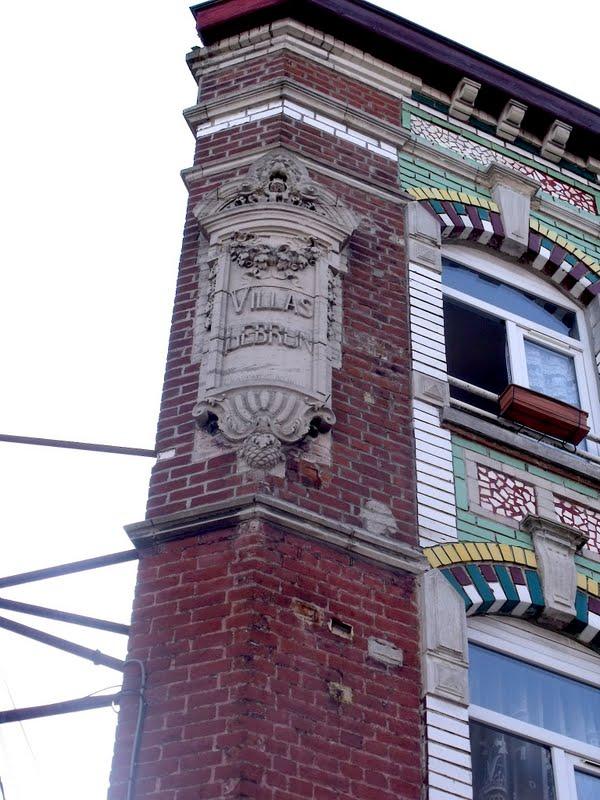 Lille l 39 art nouveau et l 39 art d co ronchin avenue jean for 82 rue brule maison lille
