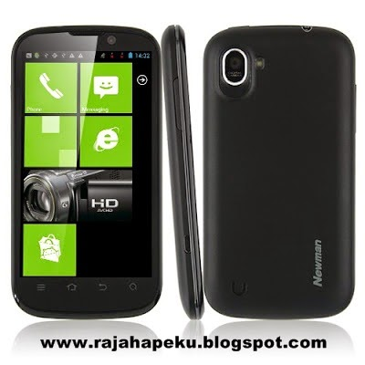 Harga Dan Spesifikasi Newman N1 News Edition, Teknologi Layar 5 Point IPS Capacitive Touchscreen