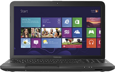 Toshiba Satellite C855D-S5303 15.6-inch Laptop For Just $269.99