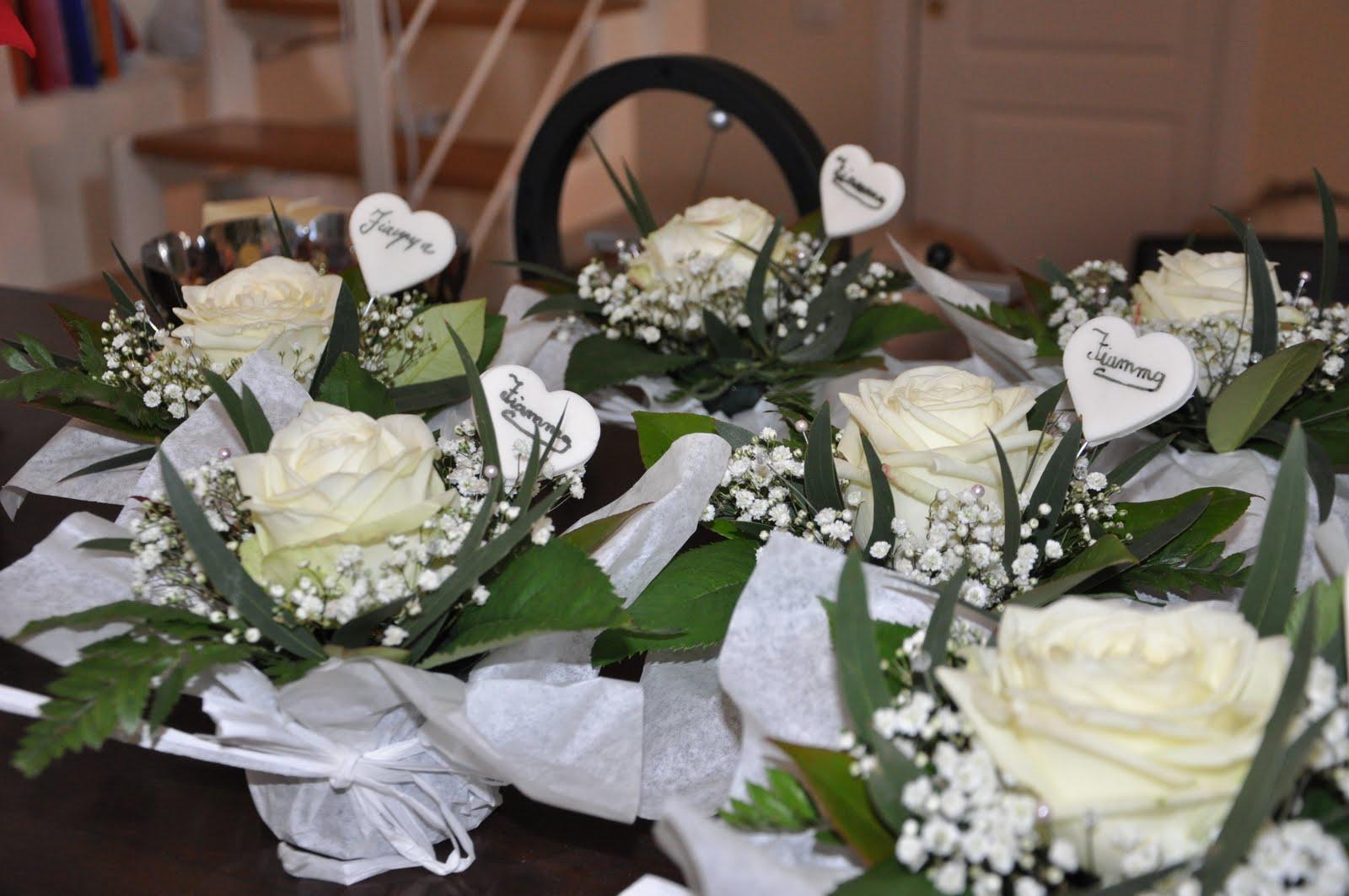 Favoloso dolci decori e non solo: Segnaposto per Comunione Fiamma TA33
