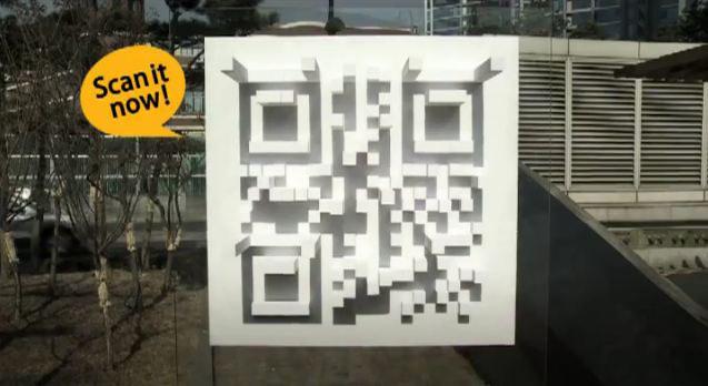 Emart en Sur Corea utiliza el codigo QR para incrementar sus ventas con maquetas solares