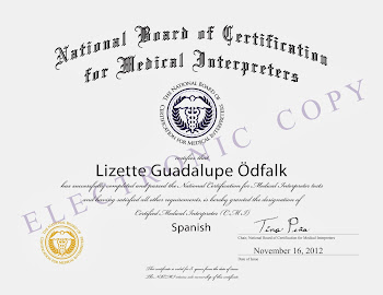 CMI - Certified Medical Interpreter