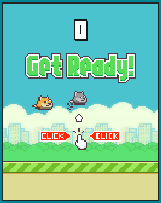 Flappy Doge is a clone of the game Flappy Bird