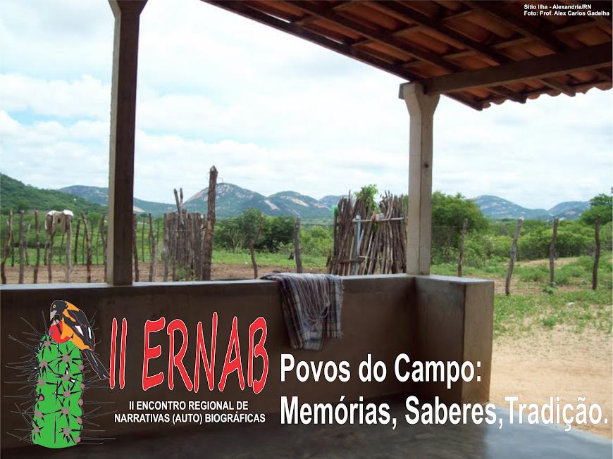 II ERNAB - II Encontro de Narrativas (Auto) Biográficas