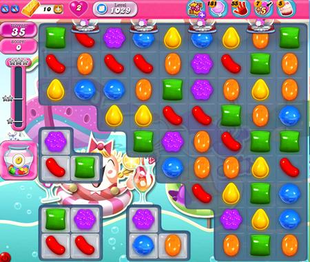 Candy Crush Saga 1029