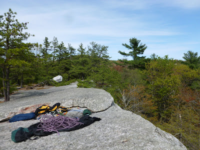 Climbing at Peters Kill, in the Gunks.   The Saratoga Skier and Hiker, first-hand accounts of adventures in the Adirondacks and beyond, and Gore Mountain ski blog.